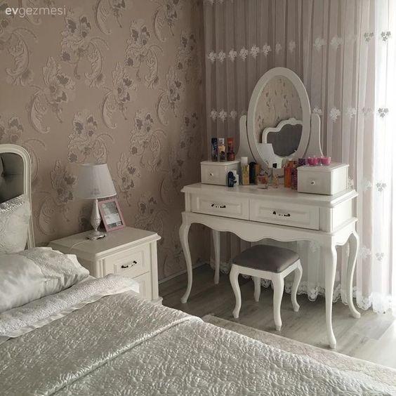 Decoracao quarto vintage papel parede