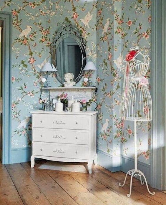 Decoracao quarto vintage
