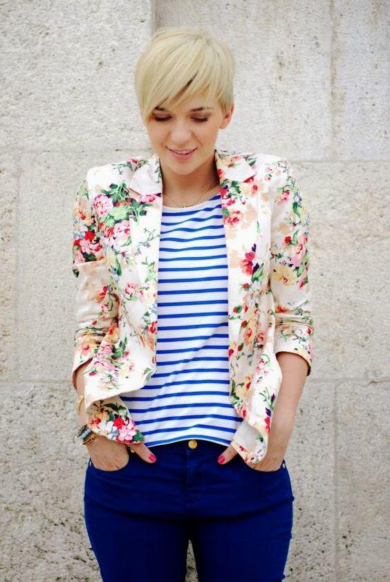 blazer floral dicas modelos 1