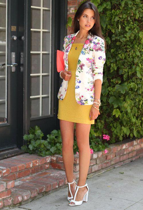 blazer floral dicas modelos 2