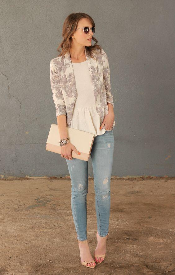 blazer floral dicas modelos 4