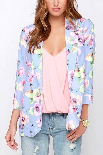 blazer floral dicas modelos 7