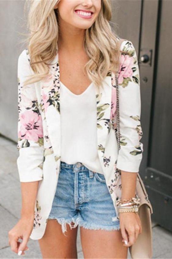 blazer floral dicas modelos 8