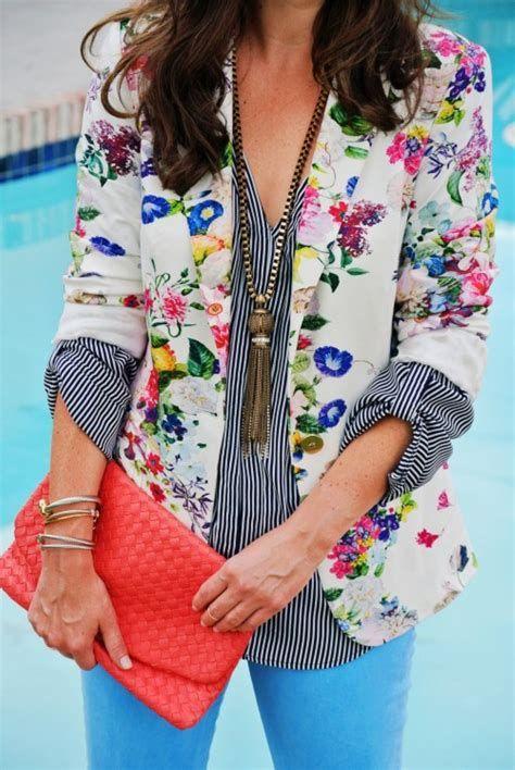 blazer floral dicas modelos