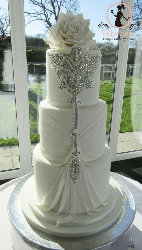 bolo noiva elegante