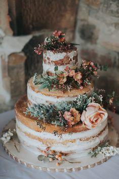 bolo noiva rustico