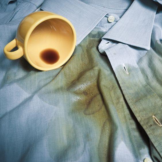 como tirar manchas roupa