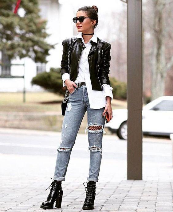 coturnos femininos jeans