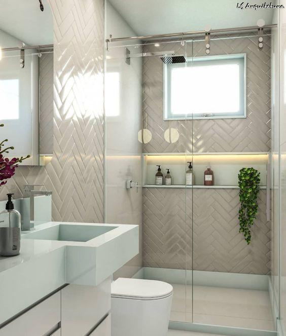 decoracao banheiro casal simples