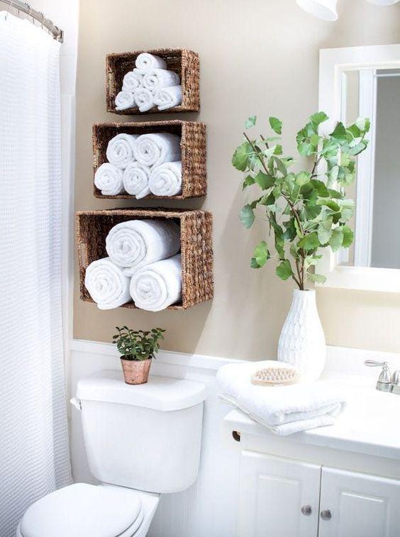 decoracao banheiro simples