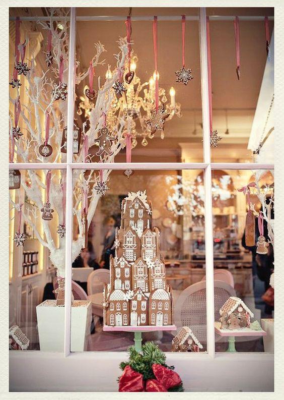 decoracao janela natal presepio ideias