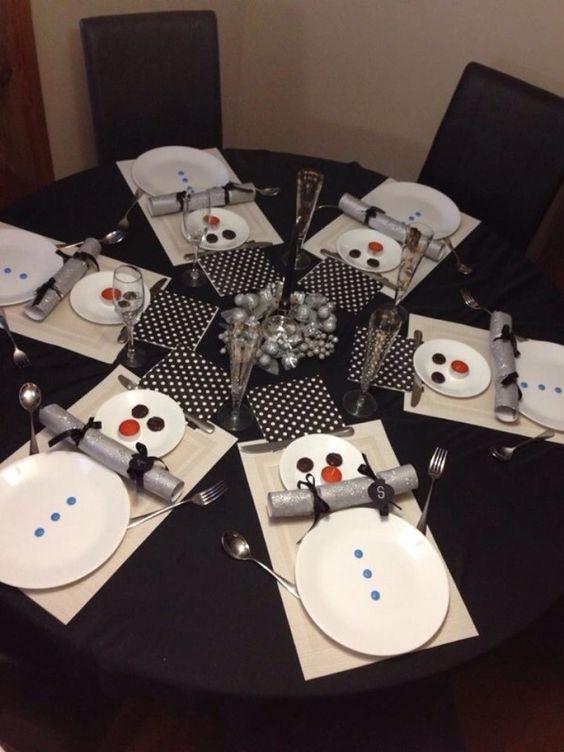 decoracao mesa natal criativa pratos