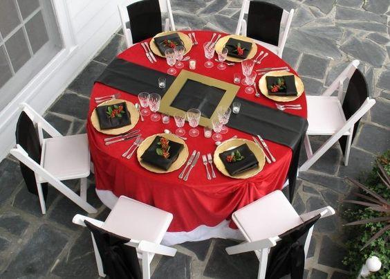 decoracao mesa natal criativa