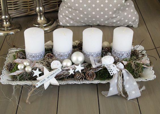 decoracao mesa natal diy simples