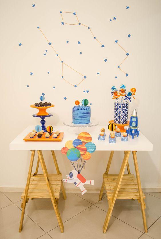 decoracao minimalista festa crianca