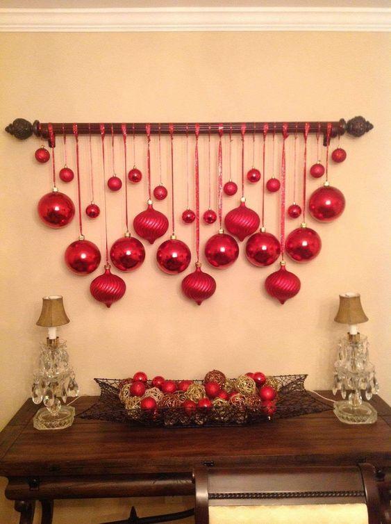 decoracao natal barata bolas