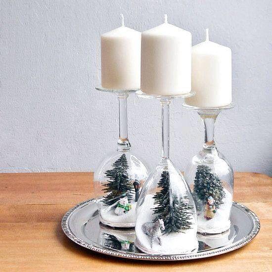 decoracao natal barata copos