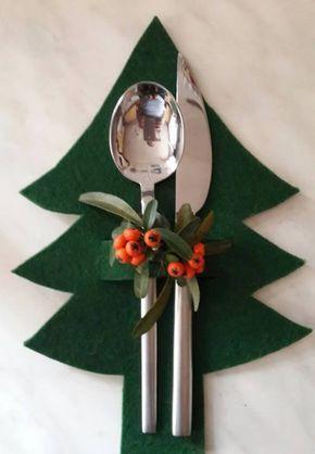 decoracao natal barata feltro