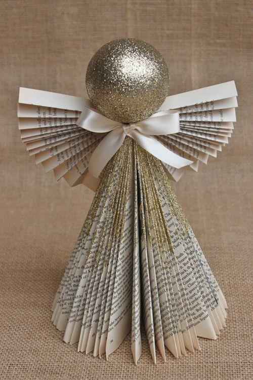decoracao natal barata papel