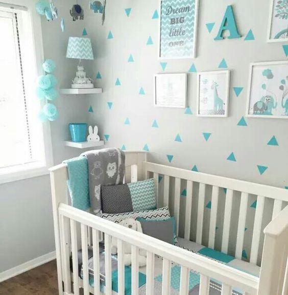decoracao quarto menino bebe simples