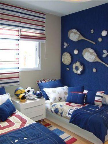 decoracao quarto menino ideias futebol