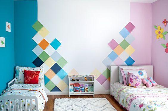 decoracao quarto menino menina colorido