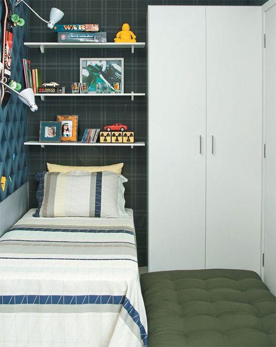 decoracao quarto menino pequeno simples