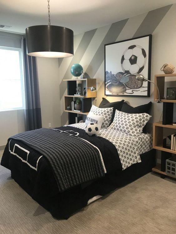 decoracao quarto menino preto