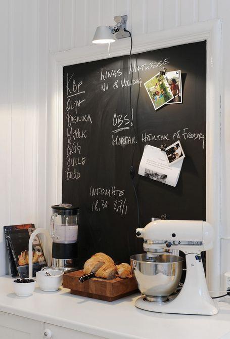 decoracao tinta magnetica cozinha quadro