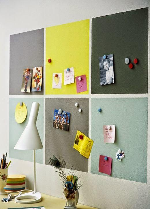 decoracao tinta magnetica escritorio