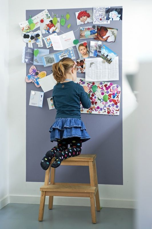 decoracao tinta magnetica quarto crianca ideias