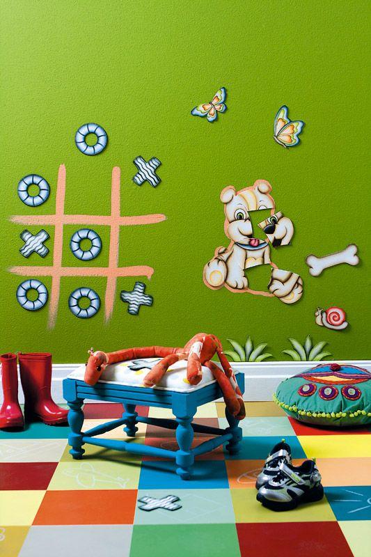decoracao tinta magnetica quarto crianca