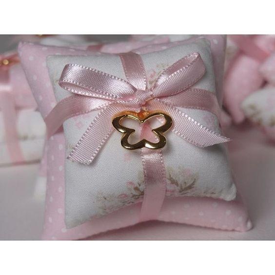lembrancinhas de cha de bebe almofada perfumada