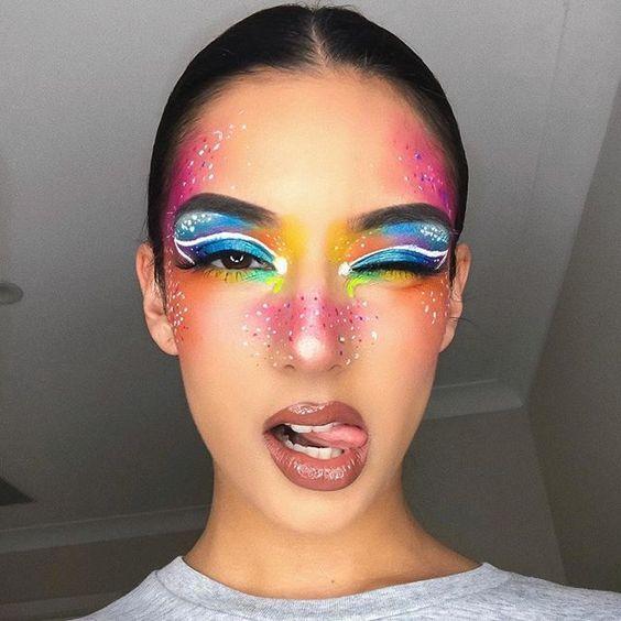 maquiagem carnaval inspiracao