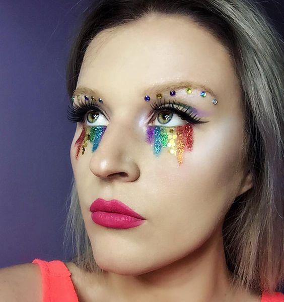 maquiagem carnaval original