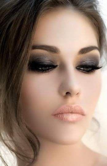 maquiagem noiva olhos esfumados classica