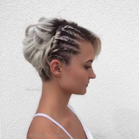 penteado cabelo curto facil