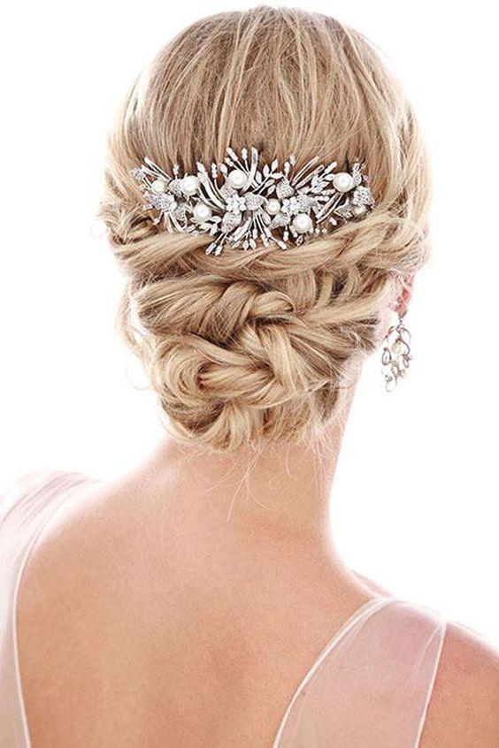penteado festa acessorios tiara