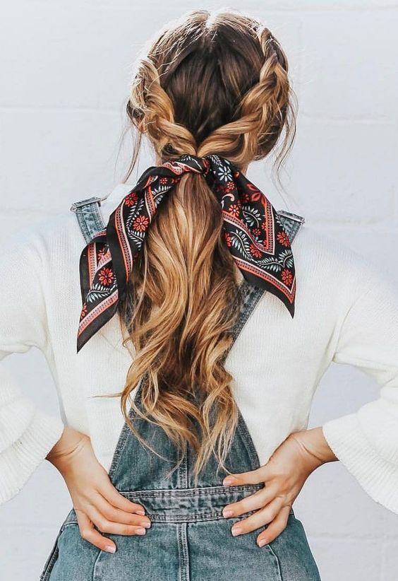 penteados verao tranca