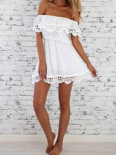 roupa reveillon branca renda