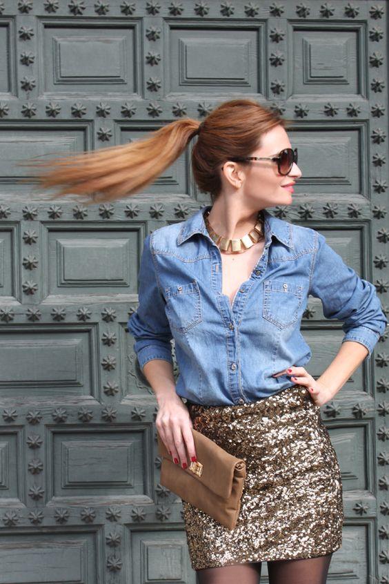 roupas femininas brilho 5