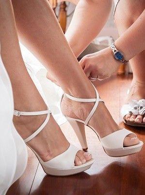 sapatos noiva brancos
