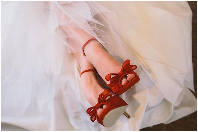 sapatos noiva colorido