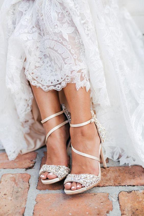 sapatos noiva tiras