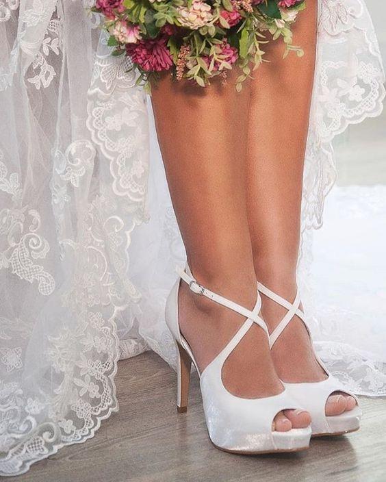 sapatos noiva tradicional