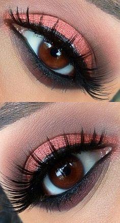 sombra olhos salientes