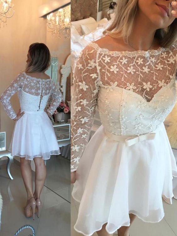 vestido festa curto casamento noiva