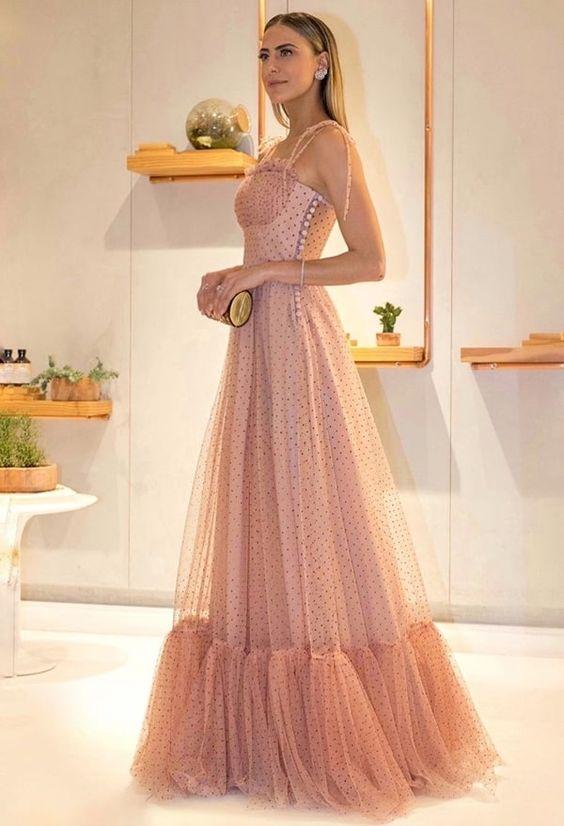 vestido festa longo